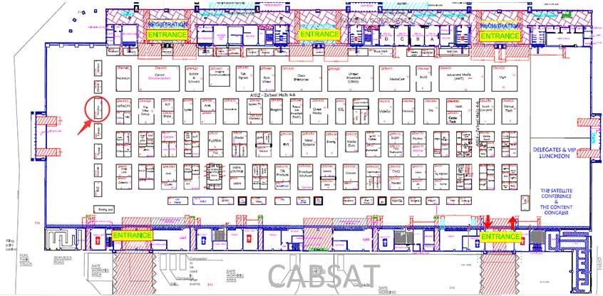 Cabsat(Dubai),