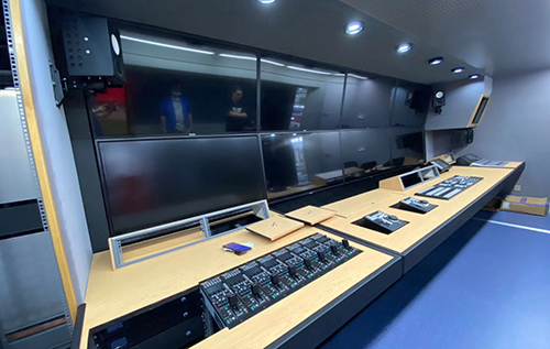 4K/UHD OB Truck for Chengdu City Brother Digital Technology